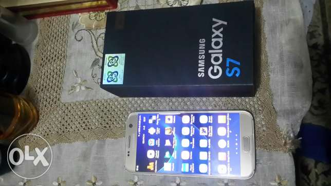 S7 g930f gold 32gb one sim المنصورة -  1
