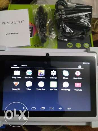 اZentality 7 Quad-Core internet Tablet مدينة بورفؤاد -  4
