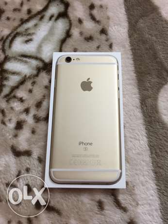 iphone 6 s 16 gold used only 4 month