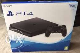 Playstation 4 slim 500gb new and sealed