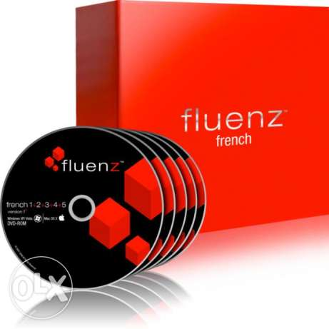 Learn French: Fluenz French 1+2+3+4+5 for Mac, PC