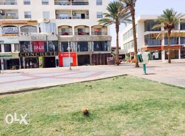 Commercial Shop For Sale In the Most Elegant Area In Hurghada ElMamsha
