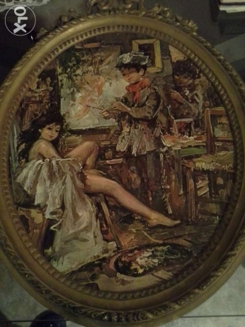 Old painting very nice in a very good condation ,