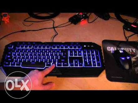 Keyboard mouse gaming cooler Master octen وسط القاهرة -  1