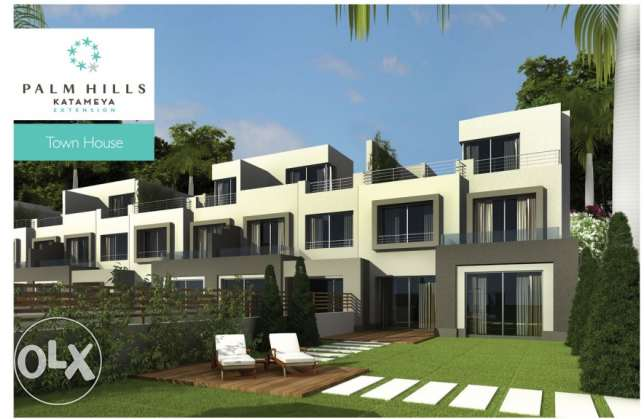 TownHouse For Sale in Palm Katameya Ex