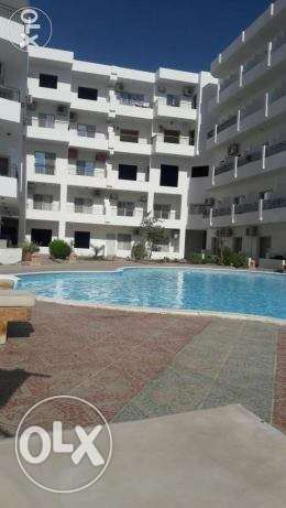 Nice one bedroom apartment in European stile for rent in compound . الغردقة -  1