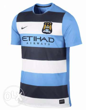 Nike man city football tshirt S القاهرة -  1
