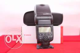 used one time Canon Flash 580 EXII 2