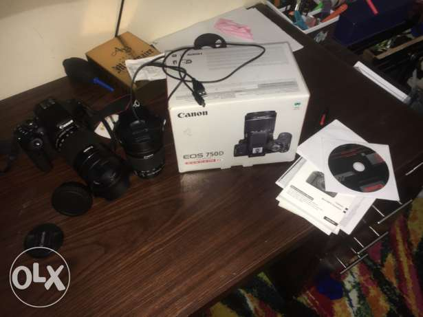 Canon 750D New-like condition-exchange for canon 70D