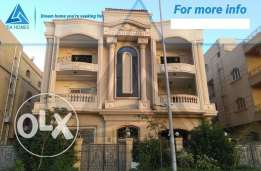 For Sale Standalone Villa in First District, New Cairo