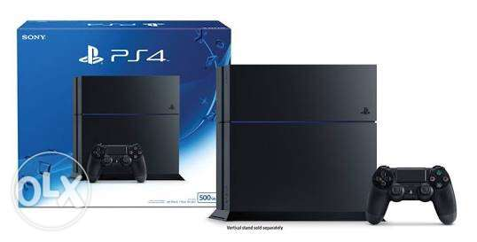 PS4 500 GB With 37 digital Games