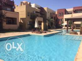 Large 2-bedroom apartment in Kamareia Resort with pool
