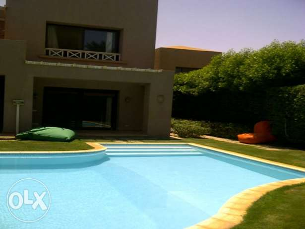 Villa with private pool for rent in Cancun Sokhna