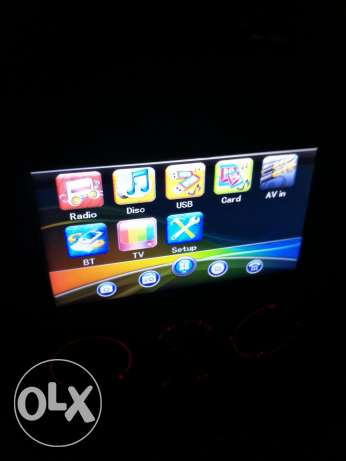 DVD Touch screen