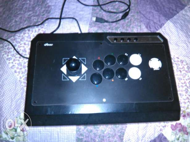 Arcade Joystick made in Japan for PC and PS3 and PS4