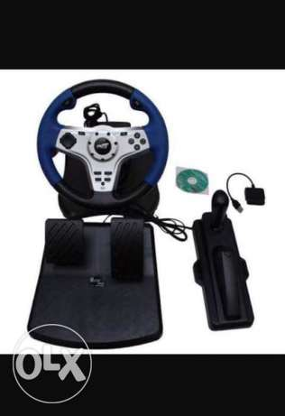 Streeting wheel for pc&ps2&ps3