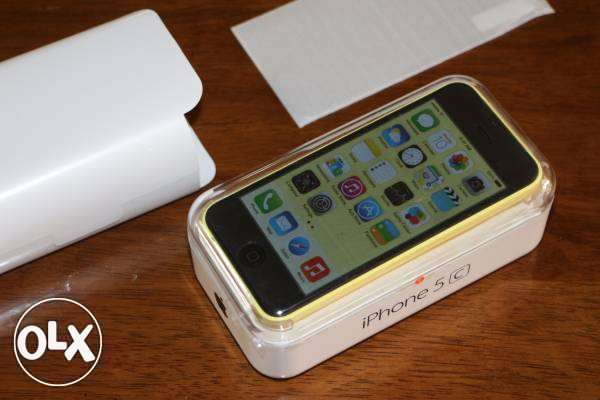 iphone5C, new, 32giga, yellow المعادي -  1