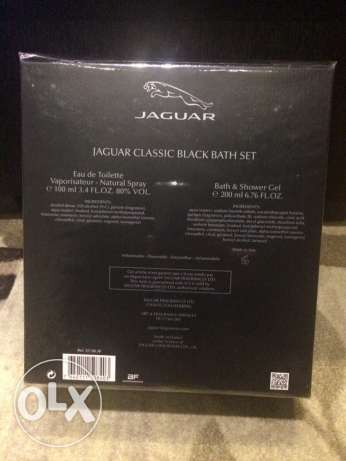 JAGUAR Classic Black Bath Set (Made in Italy) المعادي -  3