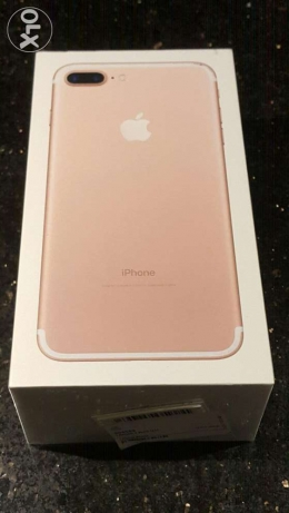 I phone 7 plus new sealed