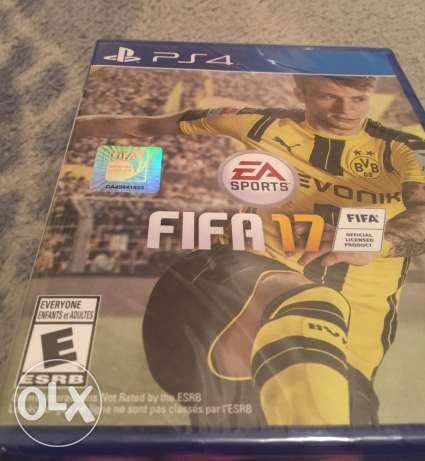 Fifa 17 ps4 new and sealed