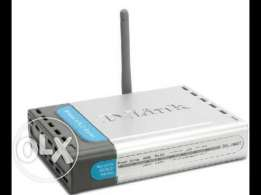 D-LINK ADSL Wriless Router