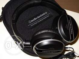 New Audio-Technica ATH-ANC27 QuietPoint Noise Cancelling Headphones