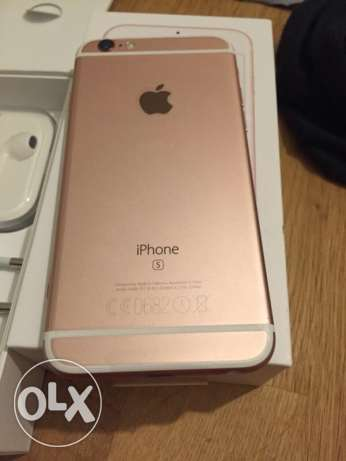 IPhone 6s rose gold 64 giga new