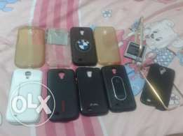 Samsung galaxy s4 with 10 cover