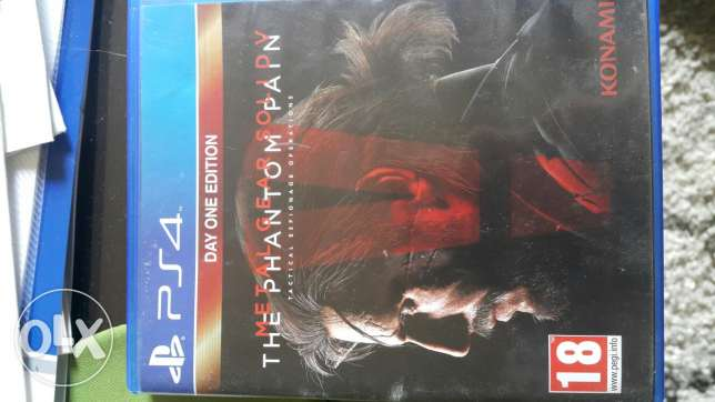 Metal Gear Solid V PS4 region 2