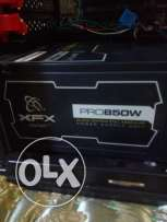 Power suplly xfx850w(gold)فررررررصه