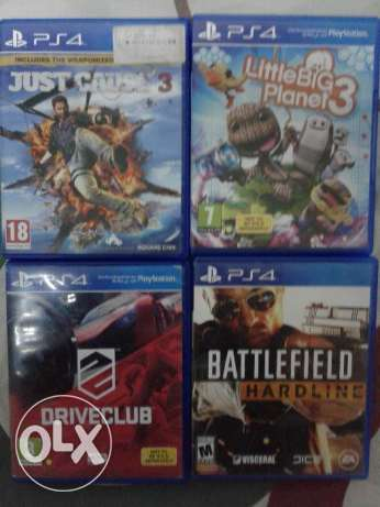 Ps4 games as new as new