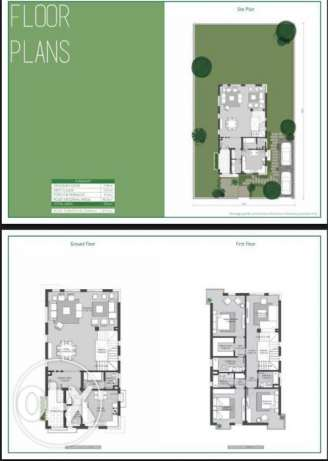 for sale villa separate phase on in Sodic view greenery