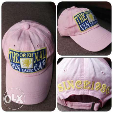 Vintage adjustable cap Rose - كاب روز