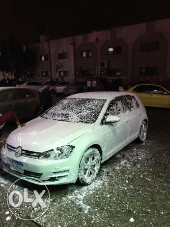 """Golf 7 - 2014 Turbo """"White with leather Seats"""""""