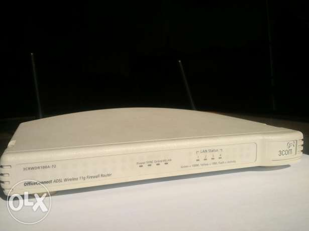 3Com Office connect wireless router مصر الجديدة -  1