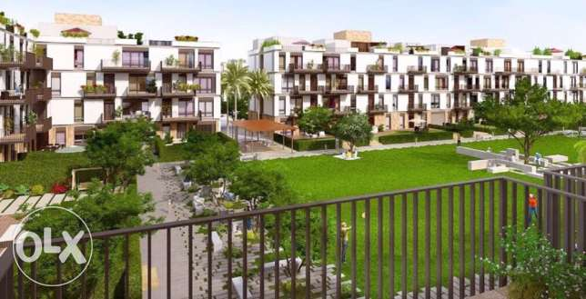 excellent Semi Finished Apartment For Sale courtyard compound