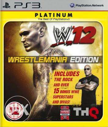 WWE'12 Platinum PS3 حي الشرق -  1