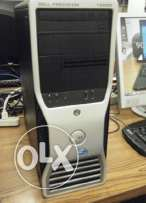 Dell Precision T3500 workstation 4CORE CASH 8M(للجرافيك والالعاب)