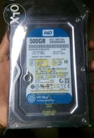 hard disk western digital 500gb blue
