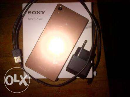 Sony Z3 Gold 4G LTE المعادي -  1