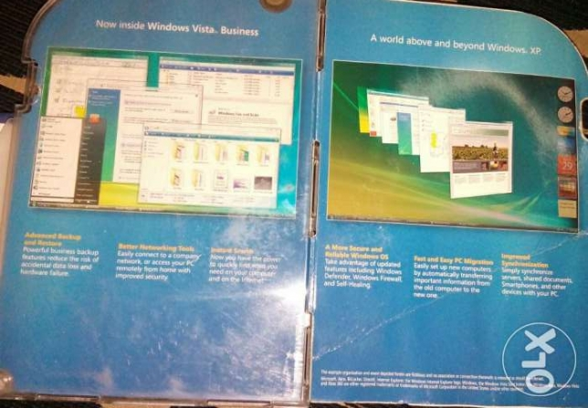Windows vista Business 32-bit الهرم -  2