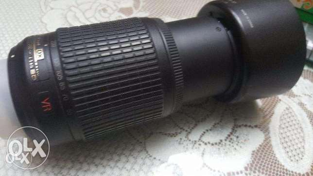 lens nikon 55_200 in very good condition
