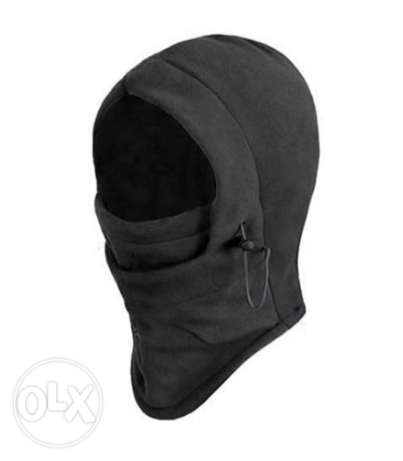 6 in 1 Thermal Fleece Balaclava - Motorcycle mask