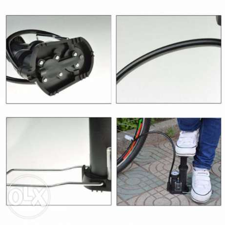 Bike Cycling Tire Pedal Inflator Air Tyre Tire Pump Portable NEW
