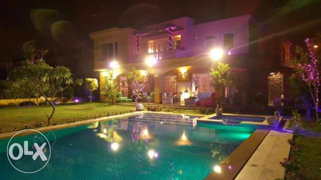 Villa at gardenia spring prime location fully finished in new cairo