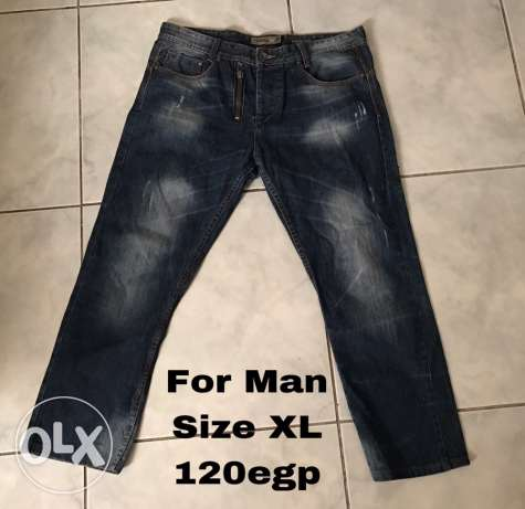 Jeans for man XXL