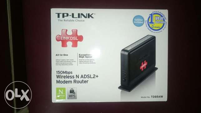 Router Wireless for LinkDsl النزهة -  1