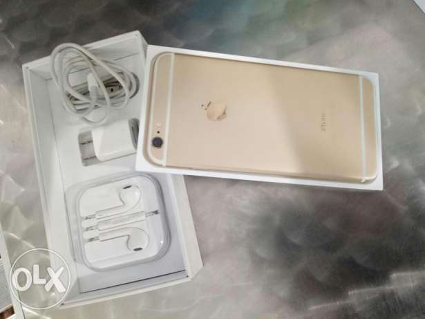 Iphone 6 plus gold as new