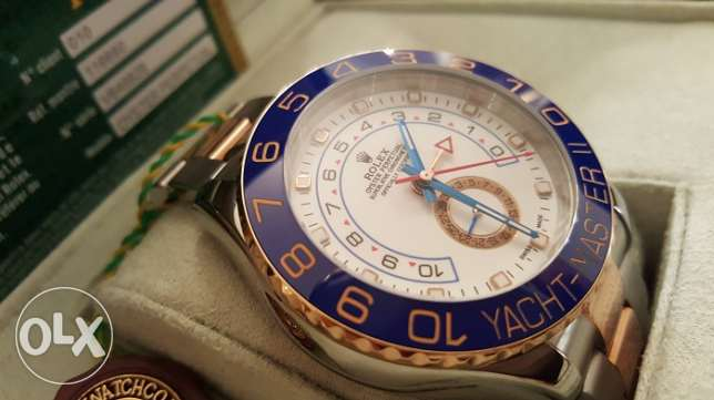 The Only Rolex-Yacht-M2 rose gold with Int. national Guarantee القاهرة -  4