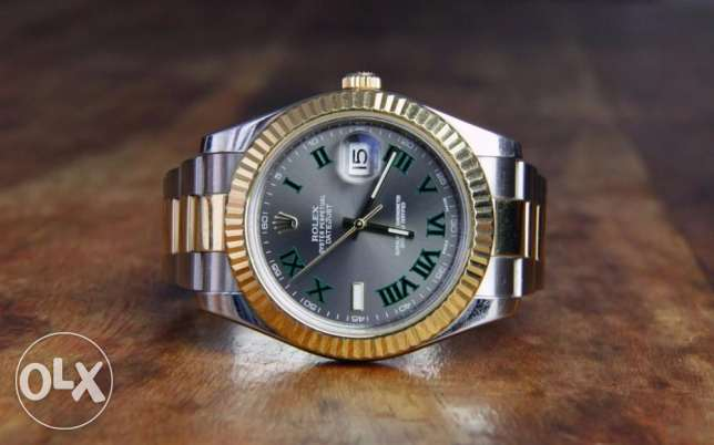 Rolex Datejust II automatic gray dial